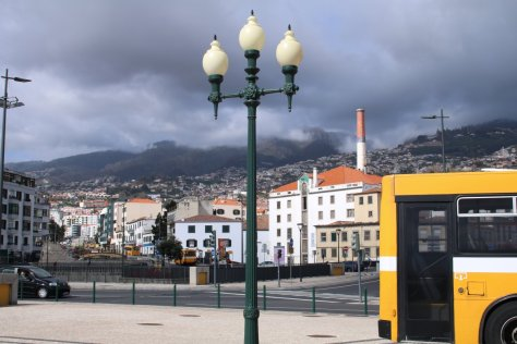 Funchal from waterfront