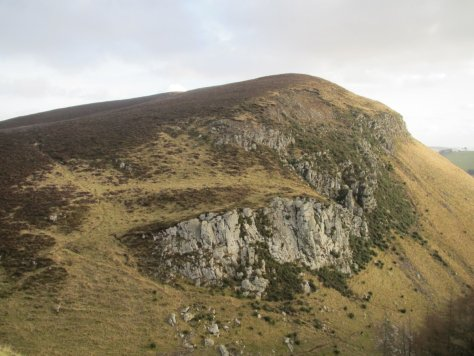 Crags of Black Hill from Dunsinane Hill