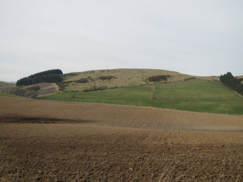 Bowhouse Hill from the south