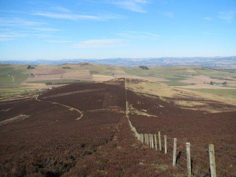 Broom Hill ridge from Gallow Hill