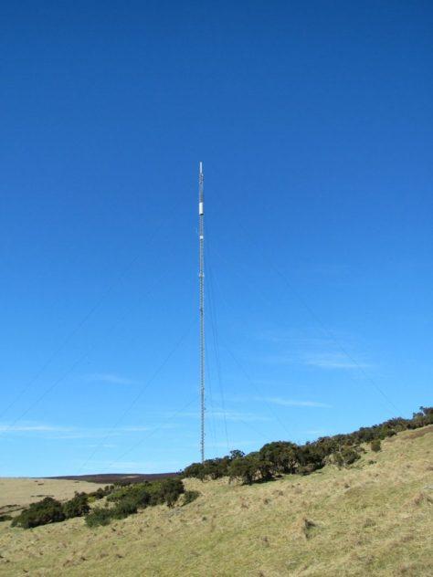 Gallow Hill telecom mast