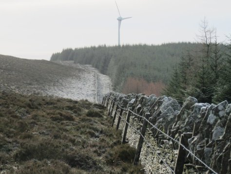 Frost in the Sidlaws