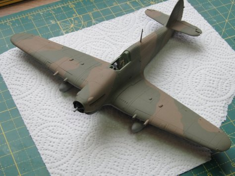Hawker Hurricane IIC Temperate Land Scheme 2