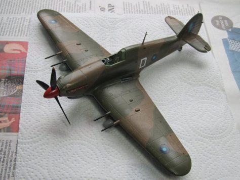 Hawker Hurricane IIC decals 2