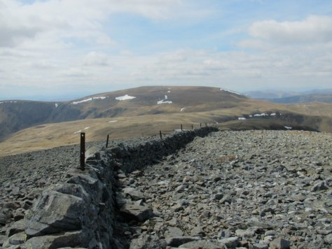 Glas Maol from Cairn of Claise