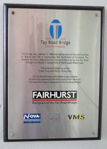 Tay Bridge Mural Plaque