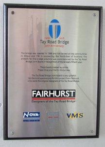 Tay Bridge Mural Plaque