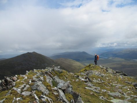Carn Dearg from the top of Lancet Edge