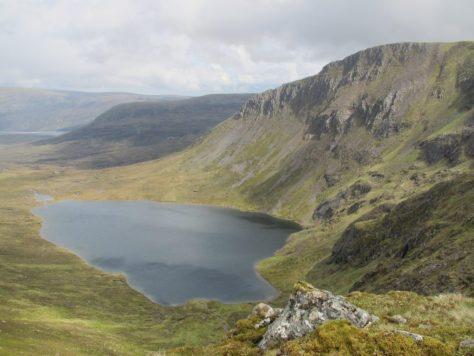 Lancet Edge above Loch an Sgoir