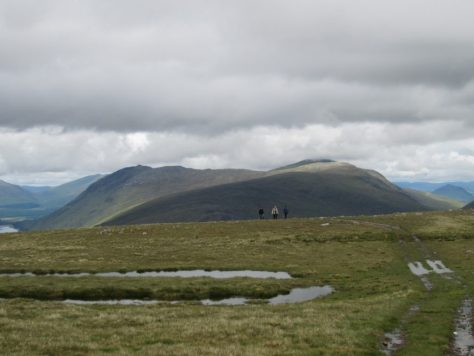 The ridge of Tom an Eoin