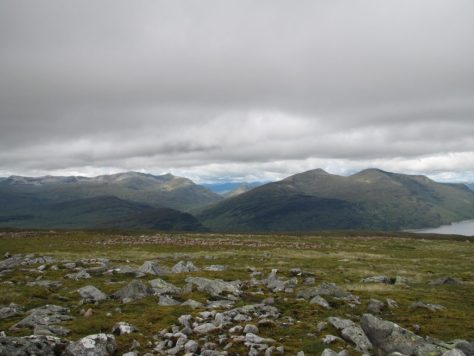 Grey Corries and Easains from Leum Uilleim