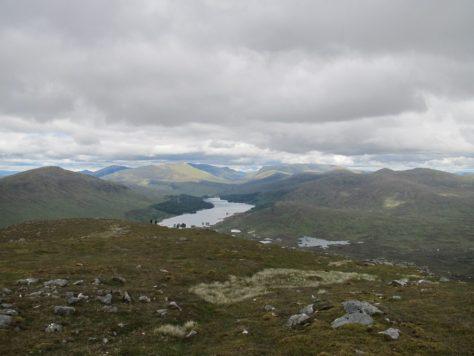 Loch Ossian from Leum Uilleim