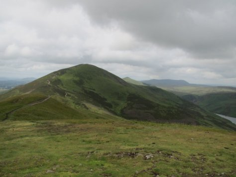 Carnethy Hill from Turnhouse Hill