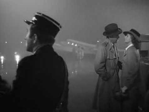 Final scene, Casablanca