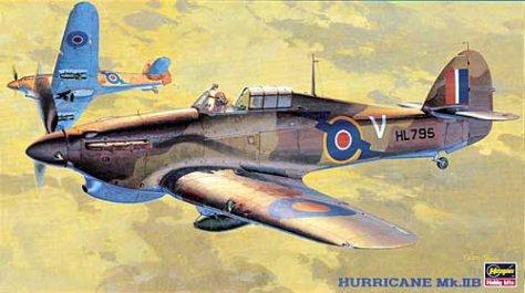 Hasegawa 1/48 Hurricane IIB box art
