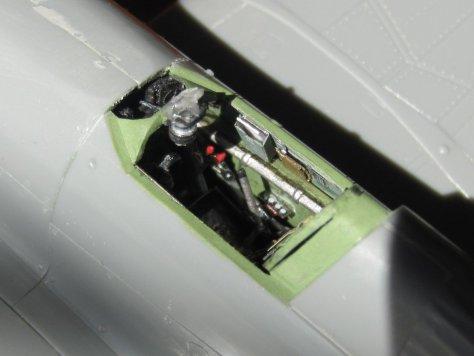 Haseqawa/Eduard Hawker Hurricane cockpit 1