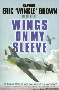Cover of Wings On My Sleeve by Eric Brown