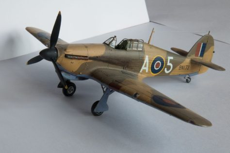 Hasegawa 1/48 Hawker Hurricane IIB (2)