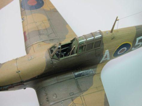 Hasegawa 1/48 Hawker Hurricane IIB (8)