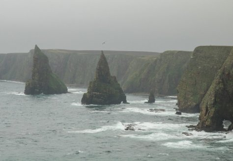 Sea stacks at Duncansby Head