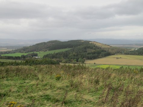 Bandirran Hill from SW Top of Hoole Hill