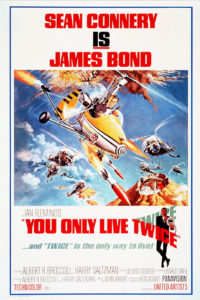 Movie poster, You Only Live Twice