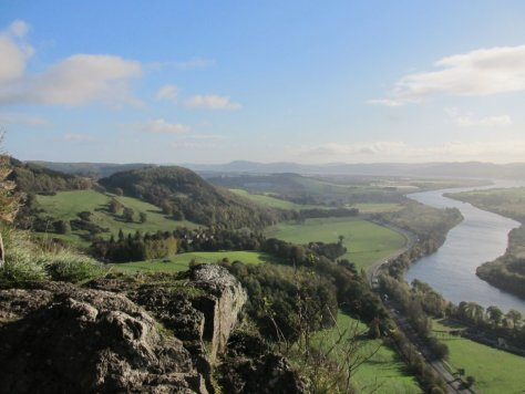 Tay valley from Kinnoull Hill