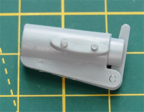 "1/24 Airfix ""Little Nellie"" kit weapons pod"