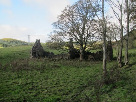 Ruined village of Westhill