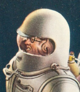 Astronaut illustrated by Rolf Klep (1952)