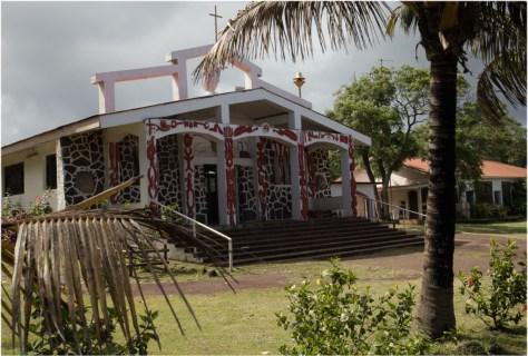 Holy Cross Church, Hanga Roa, Easter Island
