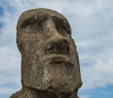 """Travelling moai"" Ahu Tongariki, Easter Island"