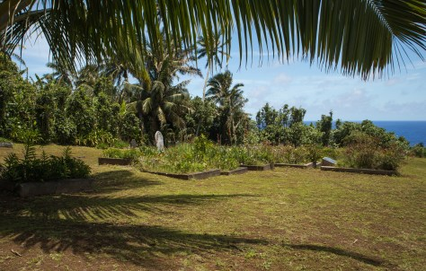 Adamstown graveyard, Pitcairn