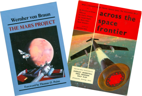 Two books about spaceflight