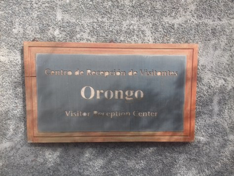 Orongo sign with ng, Easter Island