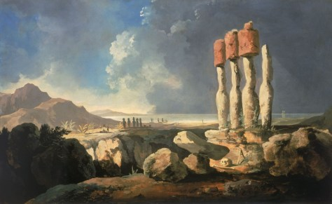 "William Hodges' ""A View Of The Monuments Of Easter Island"""