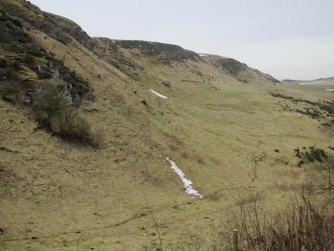 Glen of Rait below Swirlhead crags