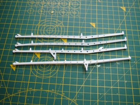 Framework for Lindberg Moon Ship, minus legs