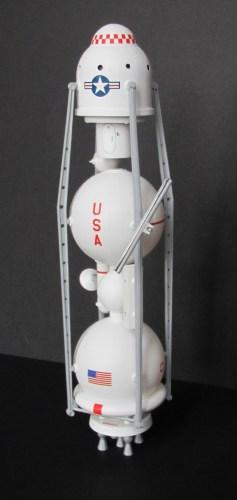 Lindberg Moon Ship, modified to von Braun concept