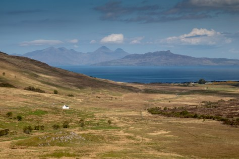 Rum and Eigg from Ardnamurchan
