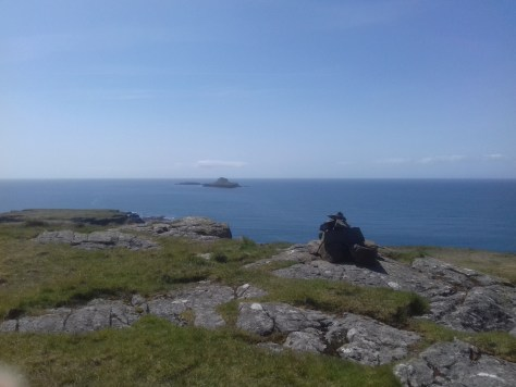 Bac Mor from Lunga, the Treshnish Isles