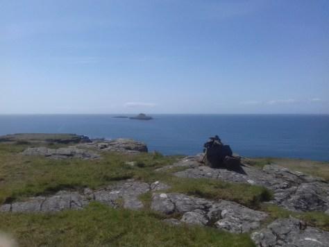 Bac Mor from Lunga, the Treshnish Isles