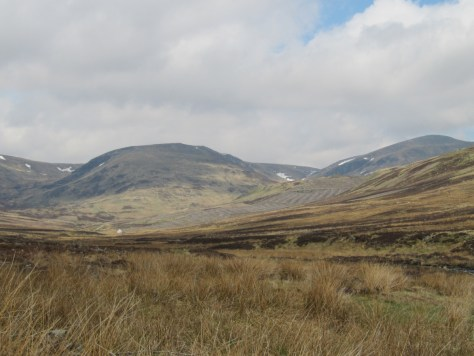 Head of Glen Prosen, Kilbo shieling