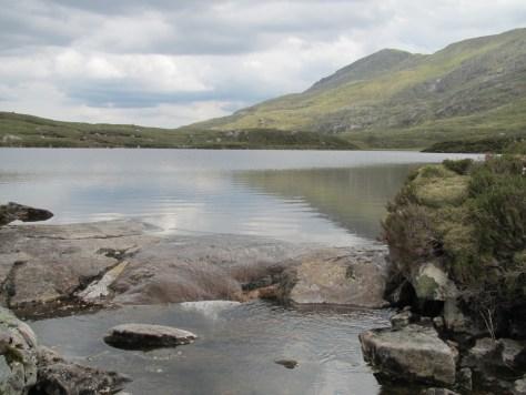 Craig a' Mhaim from Loch a' Mhaoil Dhisnich