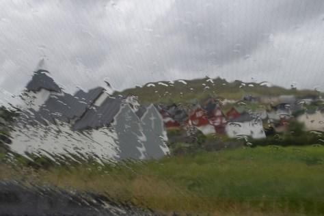 Rainy day in Hósvík
