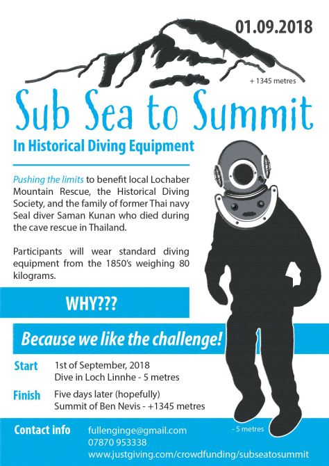 Sub Sea to Summit poster
