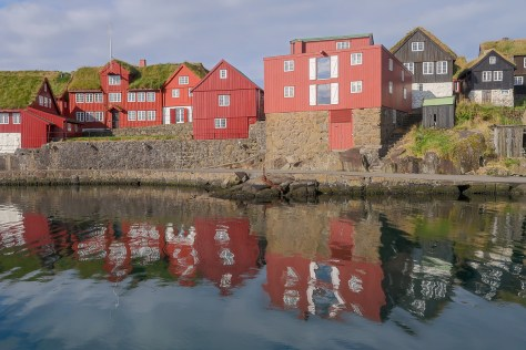 Government buildings, Tórshavn harbour