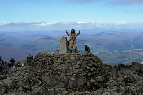 Sub Sea To Summit - Ben Nevis in a diving suit