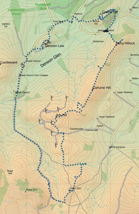 Denoon Glen route