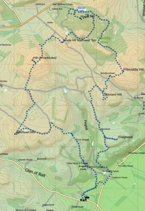 Fingask route